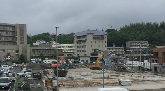 大分トヨタ本社完成して営業再開。メンテナンス社屋はすでに解体済み